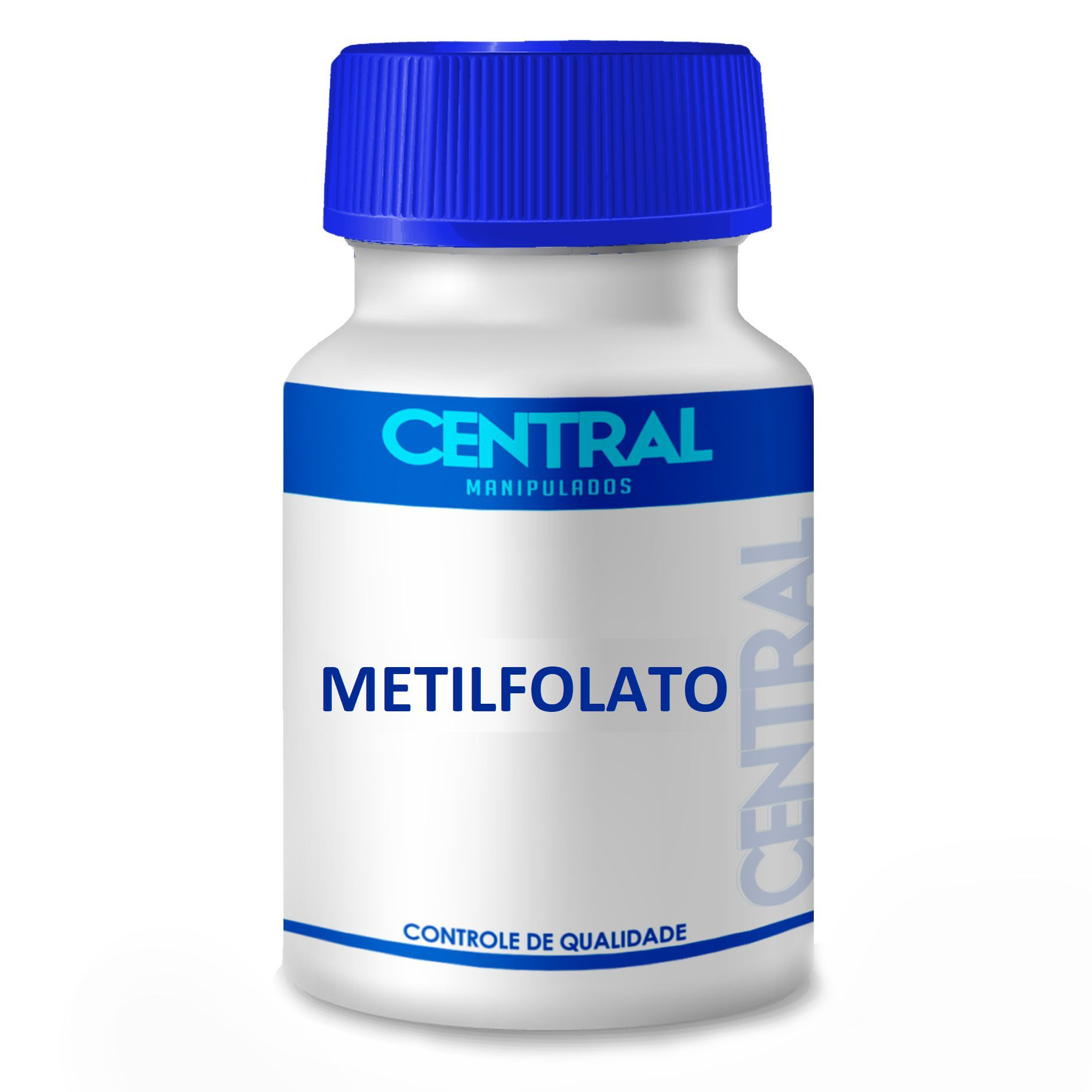 Metilfolato 800 mcg 60 cápsulas - Forma Ativa do Ácido Fólico
