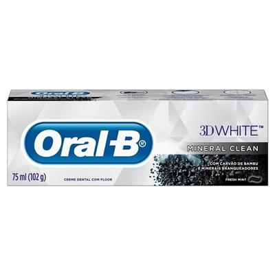 CREME  D ORAL-B 3D W MIN CL 102G