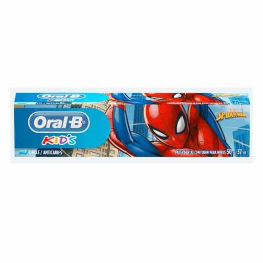 CREME  D ORAL-B KIDS SPIDERMAN 50G