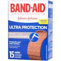 CURATIVO BANDAID ULT PROTECT 15UN