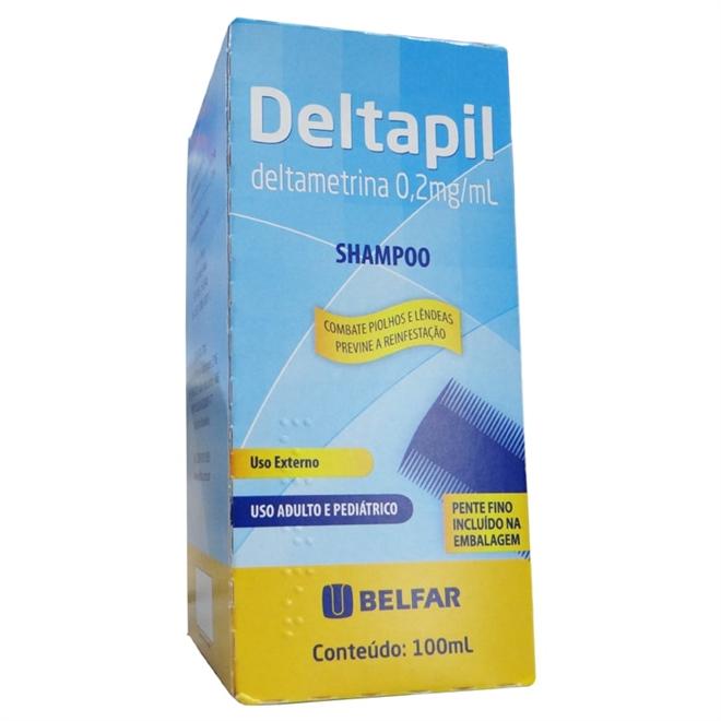 DELTAPIL SHAMPOO 100ML-BELFAR