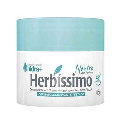 DESODORANTE  HERBIS CR NEUTRO S-PER 55G