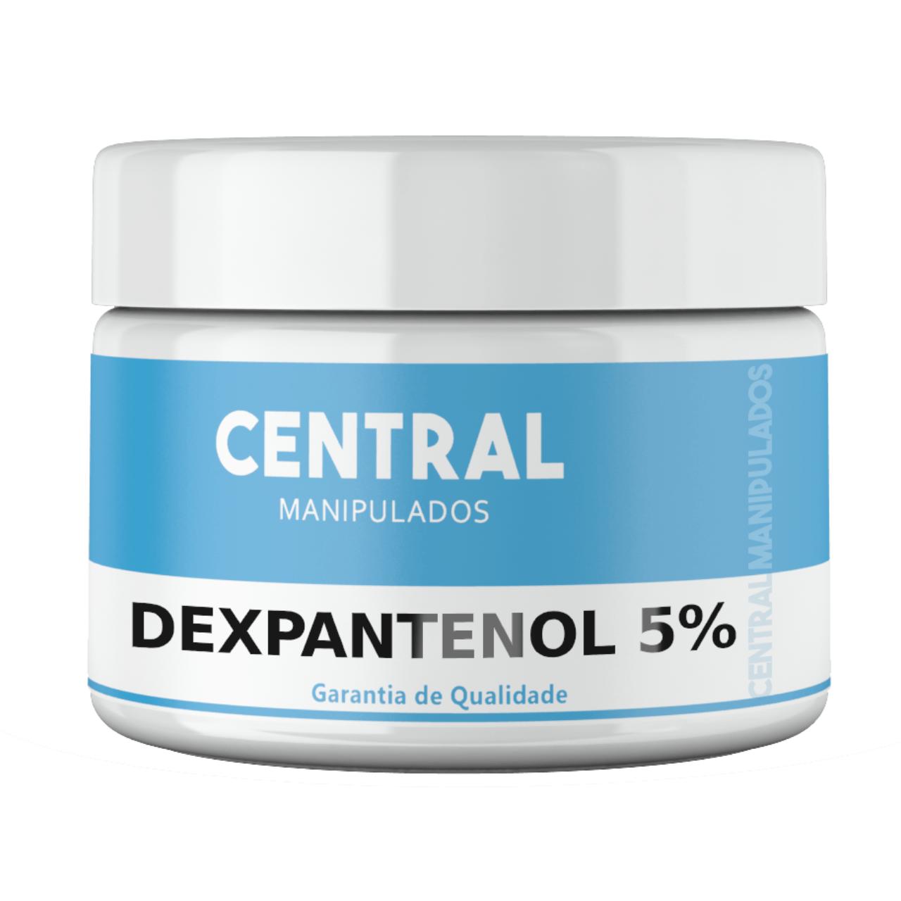 Dexpantenol 5% Creme 100g - Hidratante e Antioxidante, Reduz manchas