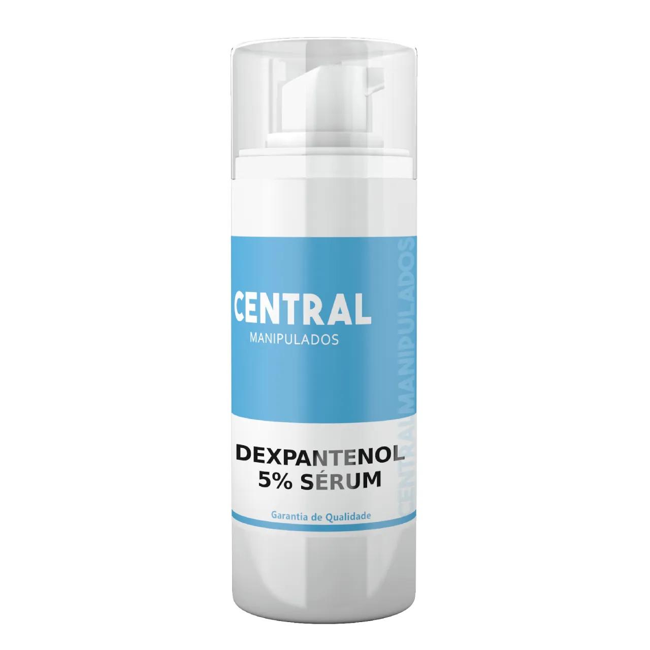 Dexpantenol 5%  Sérum - Hidratante e Antioxidante, Espessura dos fios e Reduz a Porosidade, Sela as cutículas