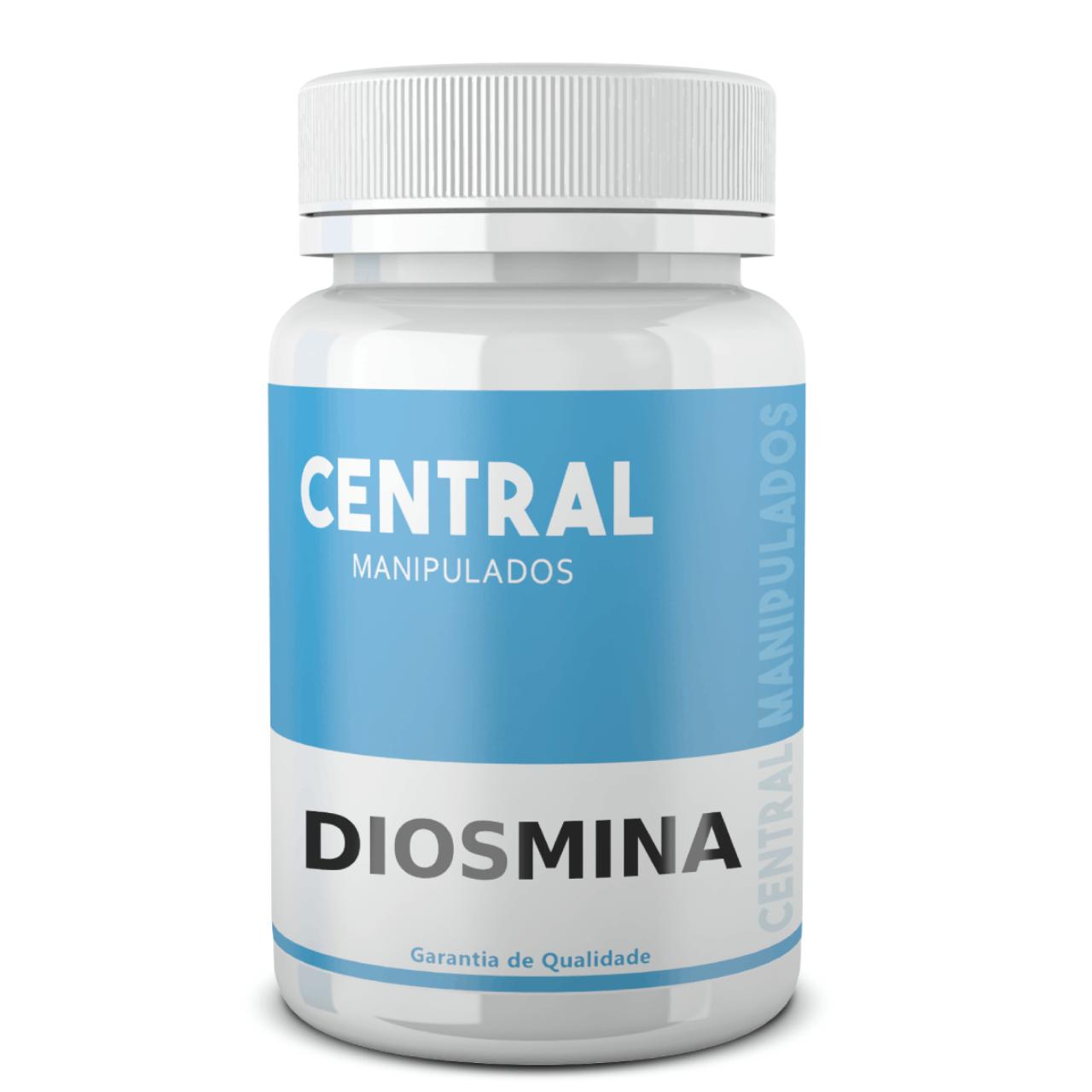 Diosmina 450mg - 30 cápsulas - Auxilia na Circulação e Tratamento de Hemorragias