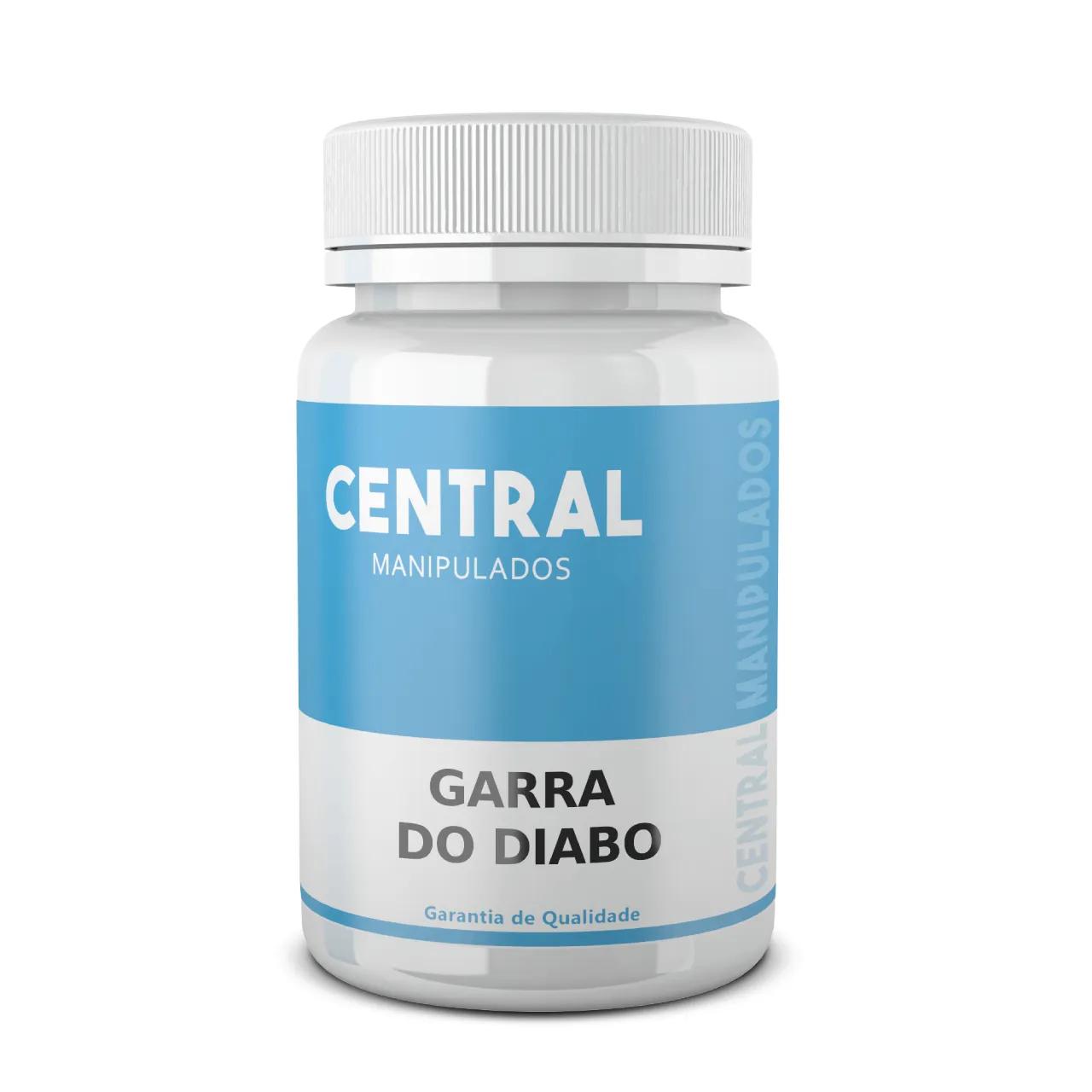 Garra do Diabo 400mg - 30 cápsulas - Anti-inflamatório, Anti-reumático e Analgésico, Contra Dores Articulares