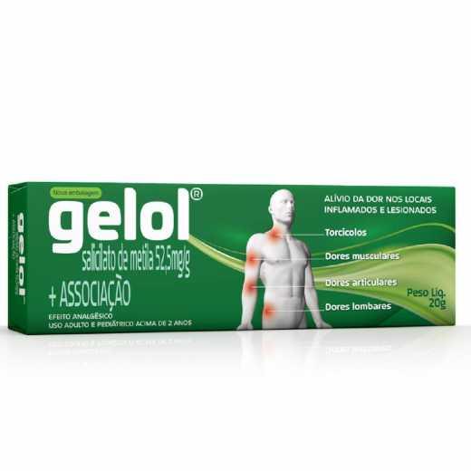 GELOL POMADA DERMATOLÓGICA 20G - COSMED ®