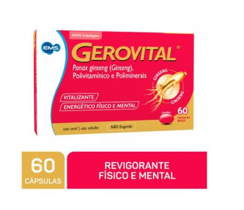 GEROVITAL 60 COMPRIMIDOS - EMS