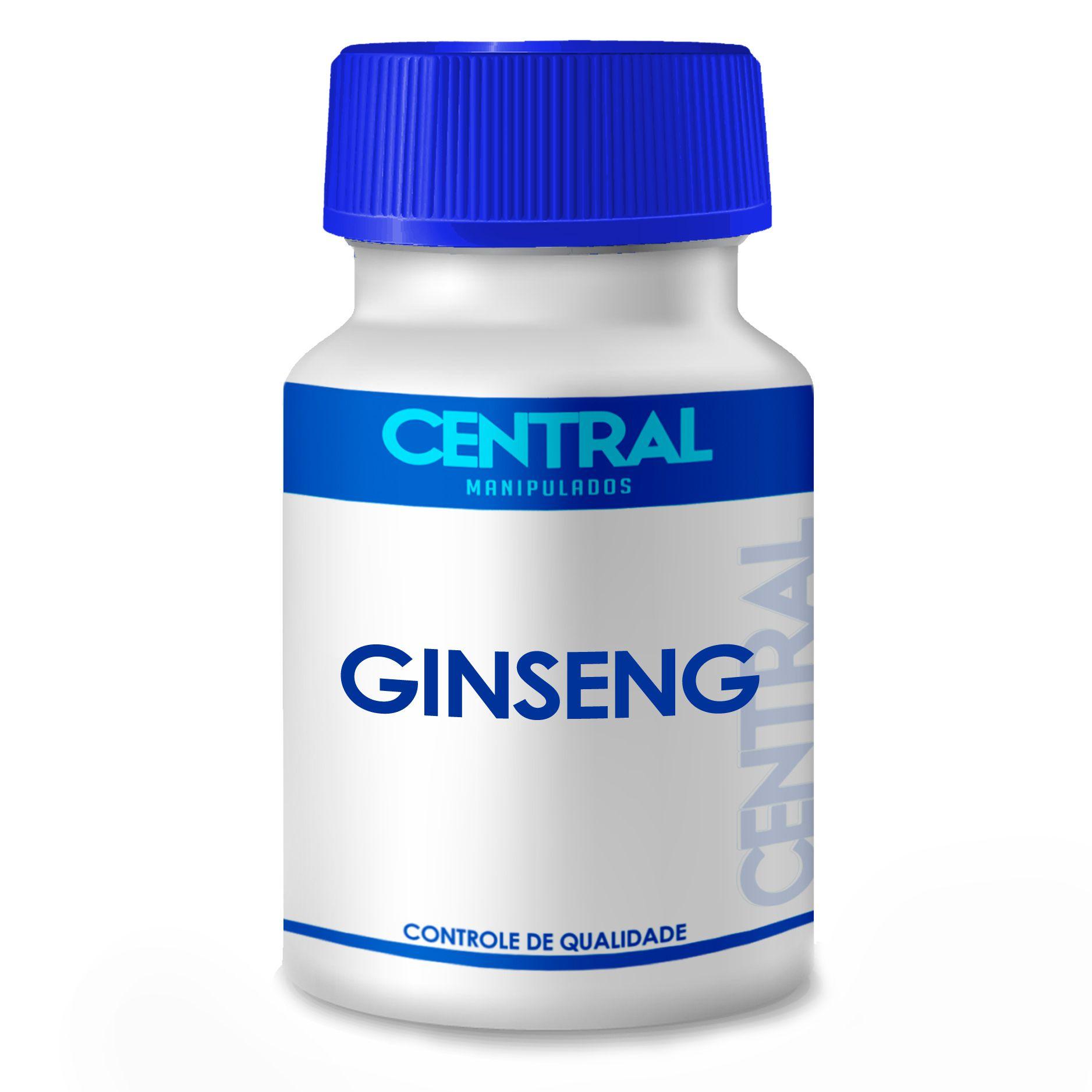 Ginseng 300mg 60 cápsulas - Disposição Física