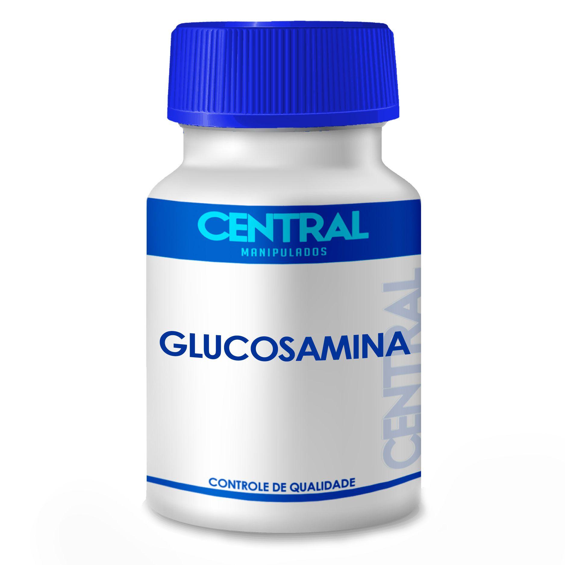 Glucosamina 500mg 60 cápsulas - tratamento de artrose ou osteoartrite