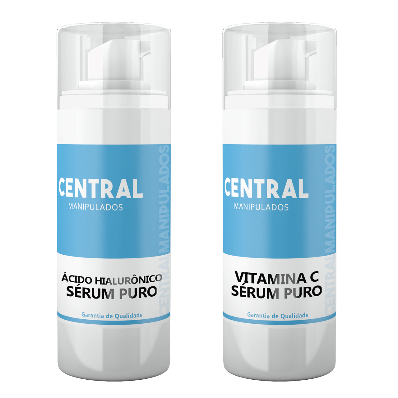 Ácido Hialurônico 30ml Sérum +  Vitamina C Pura 30ml Sérum  -