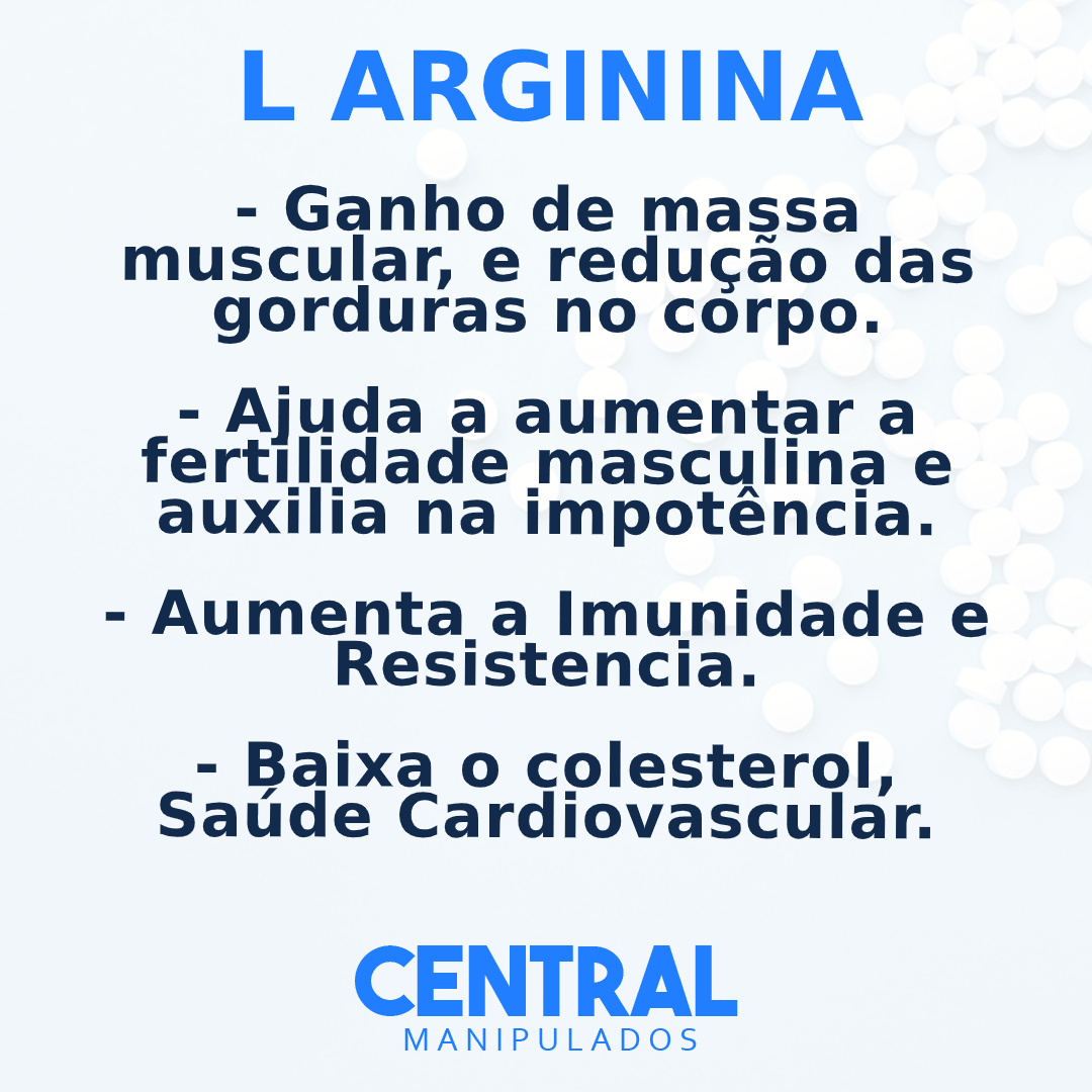 Arginina - 30 sachês de 3g