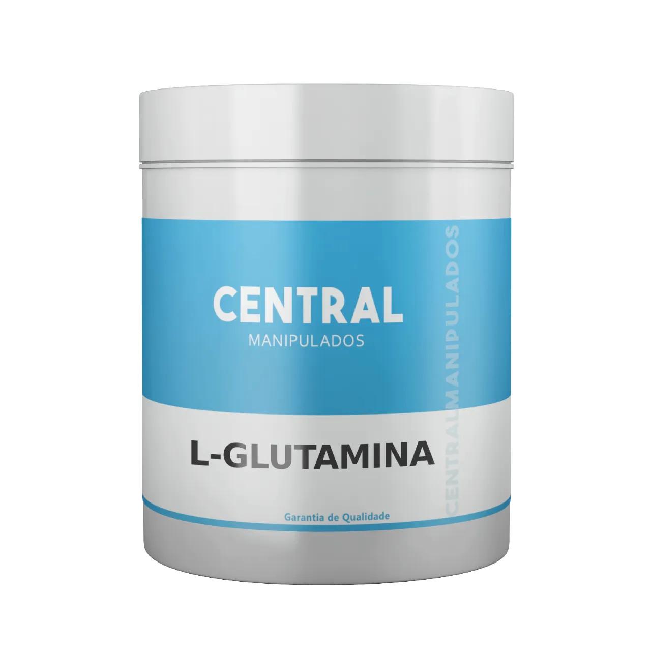 L-glutamina em Pó - 100g - Suplemento para prática esportiva, Imunidade, Desintoxicação corporal, Regulador Hormonal
