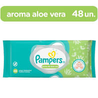 LENCO UM PAMPERS ALOE VERA 48U