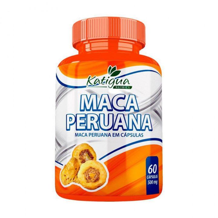 MACA PERUANA 500MG 60 CÁPSULAS - AFRODISIACO