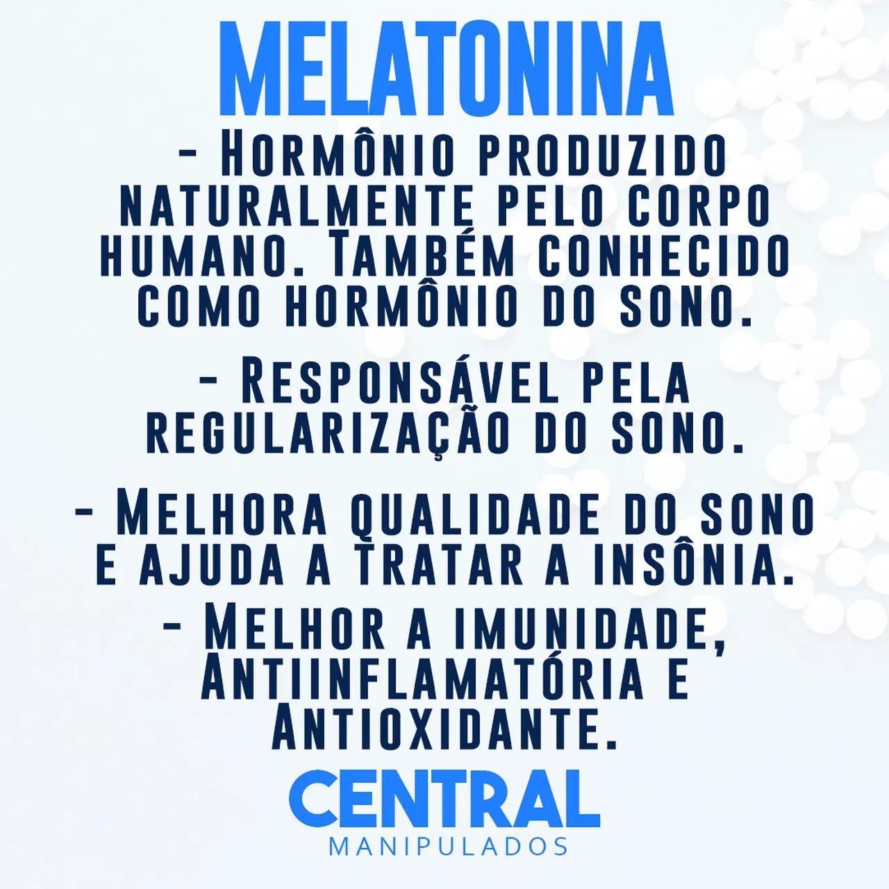 Melatonina - 5mg - 60 cápsulas
