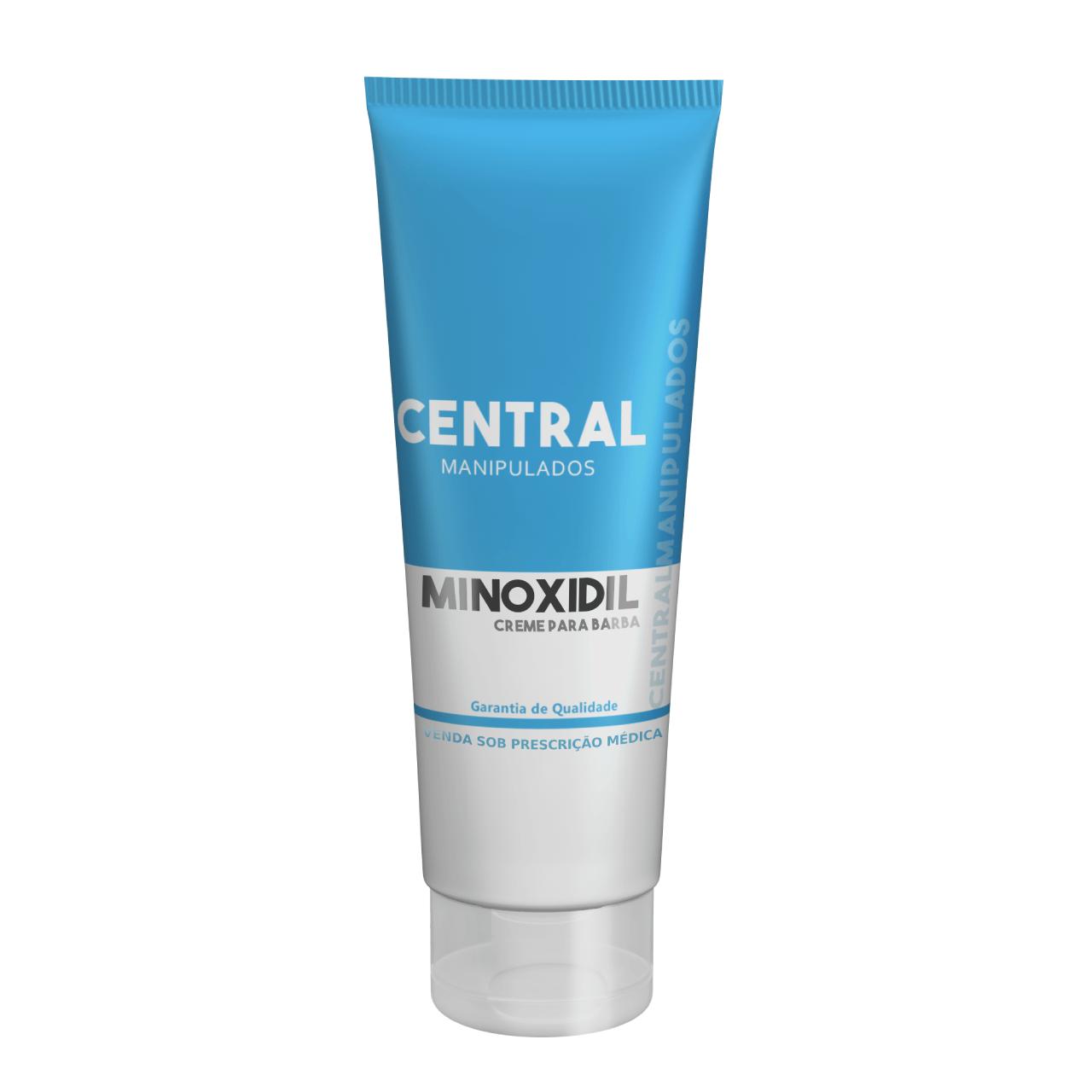 Minoxidil 5% - creme 30g  - Combate a queda capilar e cálvice