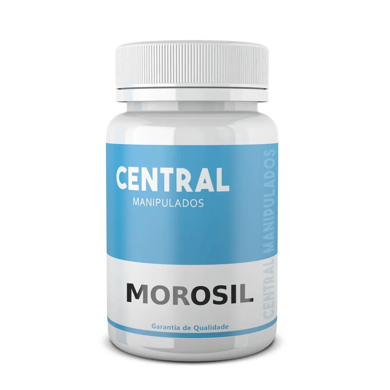Morosil (ORIGINAL GALENA) 500mg - 90 cápsulas - Emagrecimento e redução de medidas no abdômen
