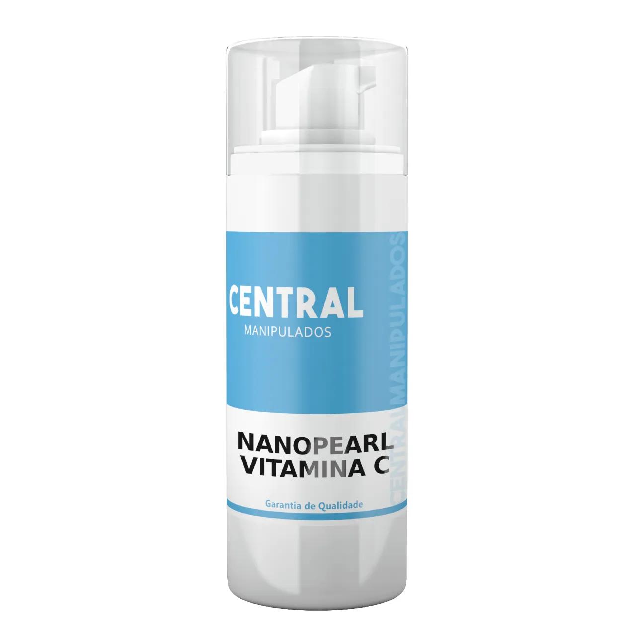 Nanopearl (Pérolas) Vitamina C - 30 gramas
