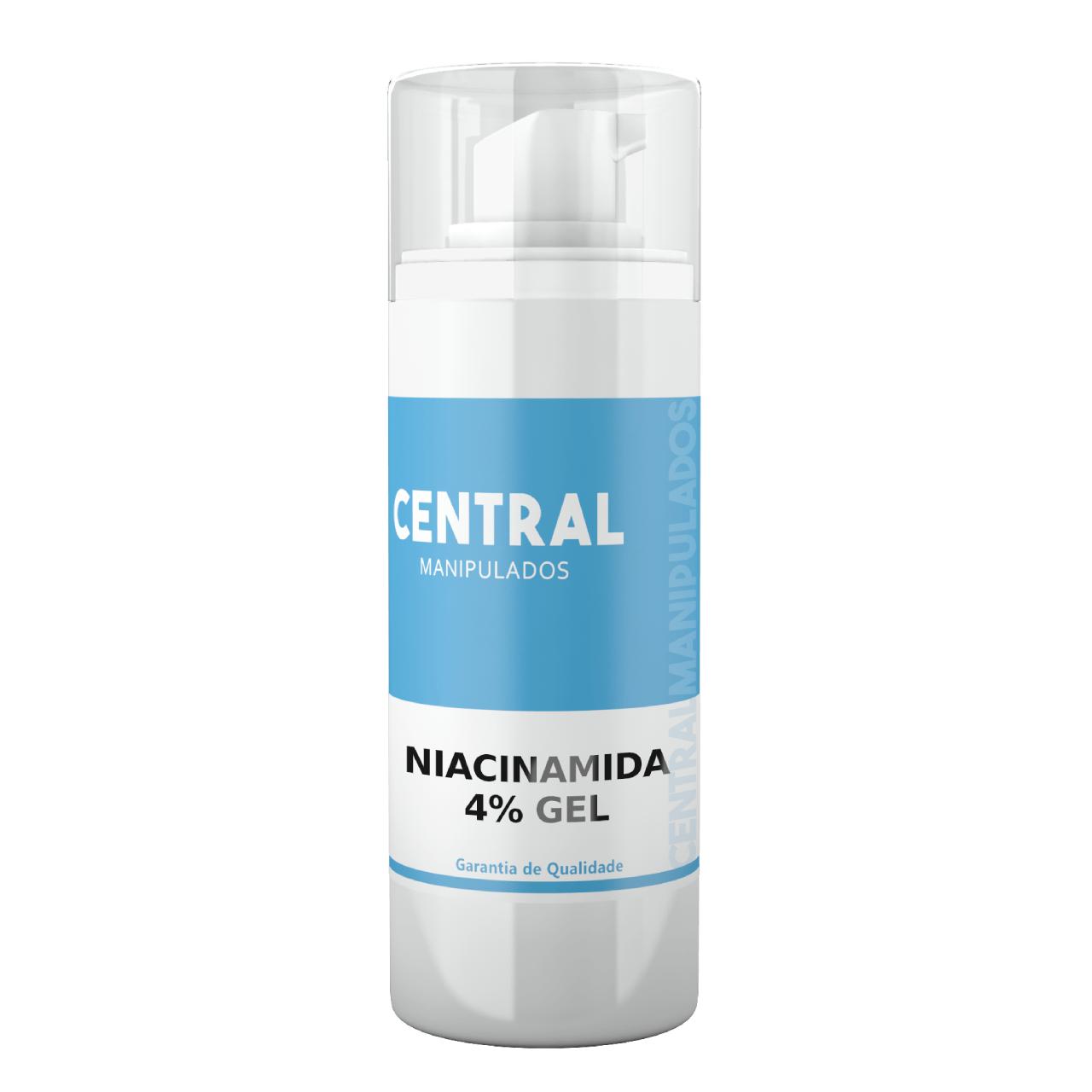 Niacinamida 5% Creme 30g - Ação Antienvelhecimento, uniformidade da pele, ação anti-inflamatória, que ajuda a combater a acne