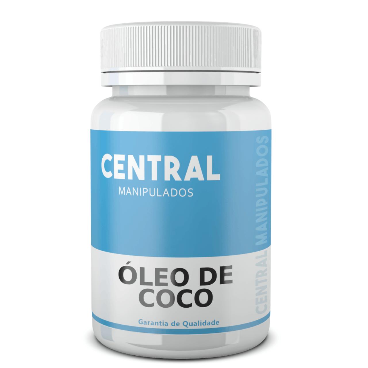 Óleo de Coco Orgânico 1Grama - 60 cápsulas