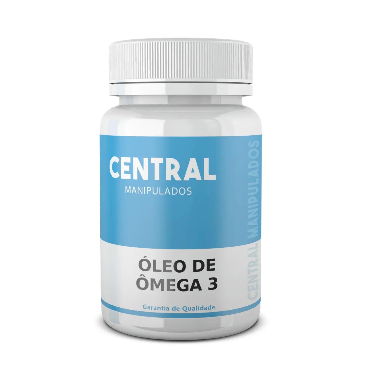 Óleo de Peixe OMEGA 3 - 60 cápsulas - Redução do Colesterol, Antiinflamatório, Efeitos Positivos na Composição Corporal