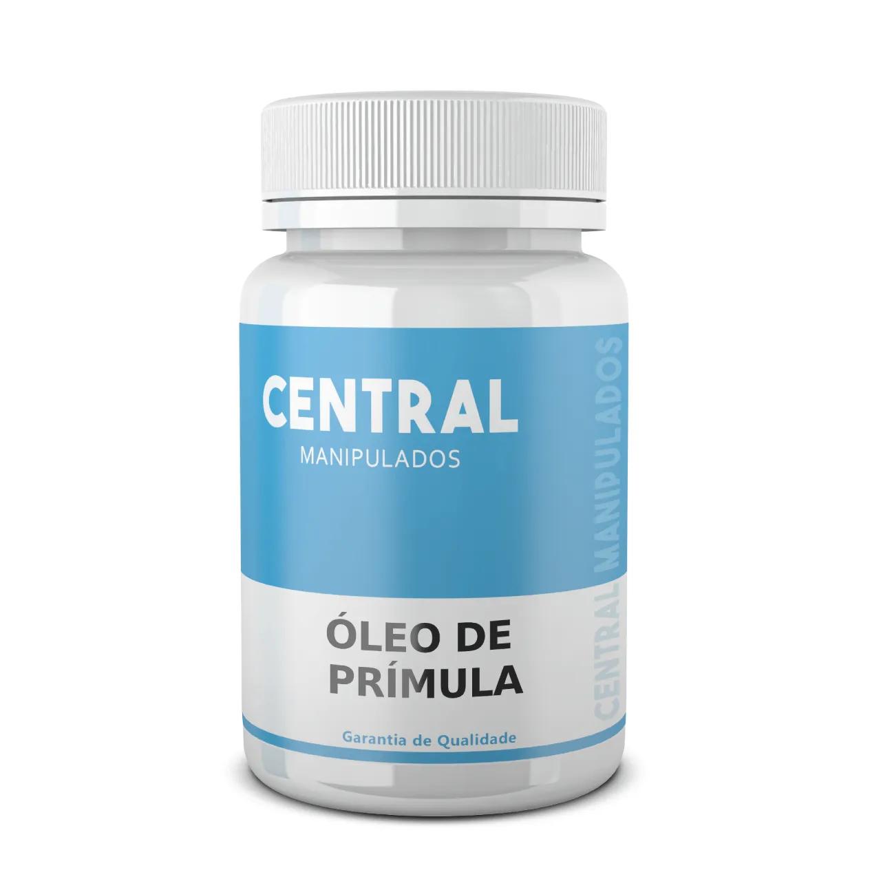 Óleo de Prímula 500mg - 60 cápsulas - Previne Endurecimento das Artérias, Doença Cardiovascular e Pressão Alta, Dimininui Colesterol