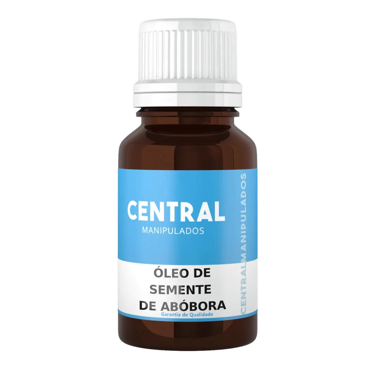 Óleo de Semente de Abóbora - 30ml - Auxilia e previne a queda de cabelo, hidratar e nutir a pele, detoxificação natural do organismo, antiinflamatório natural