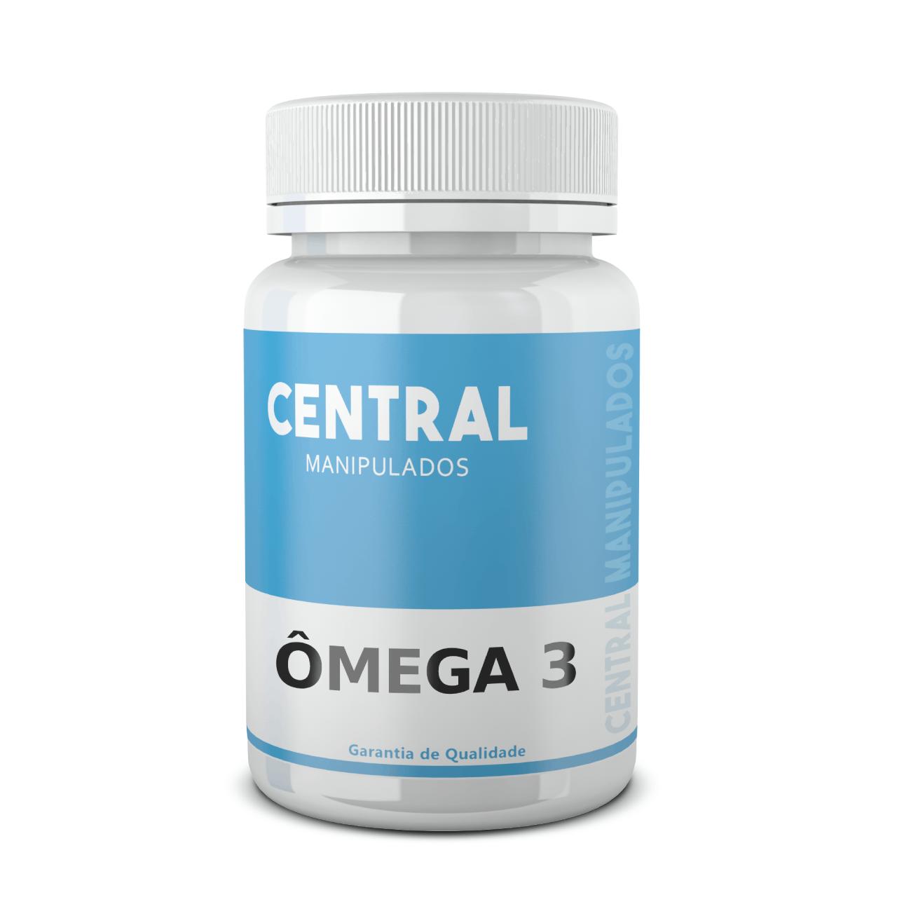 Omega 3 1.000mg - 120 cápsulas