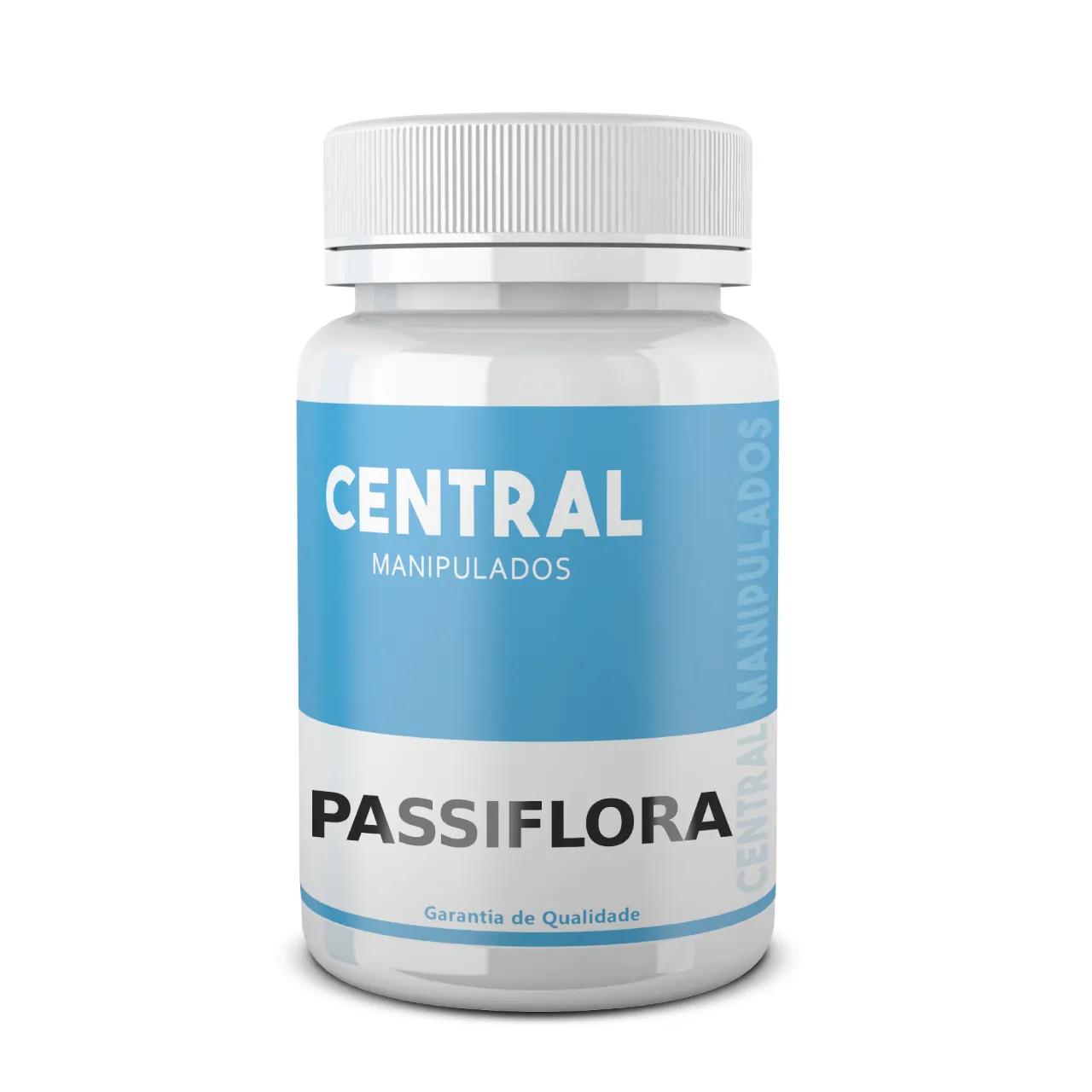 Passiflora 200mg - 240 cápsulas - Ajuda na ansiedade, insônia e irritabilidade