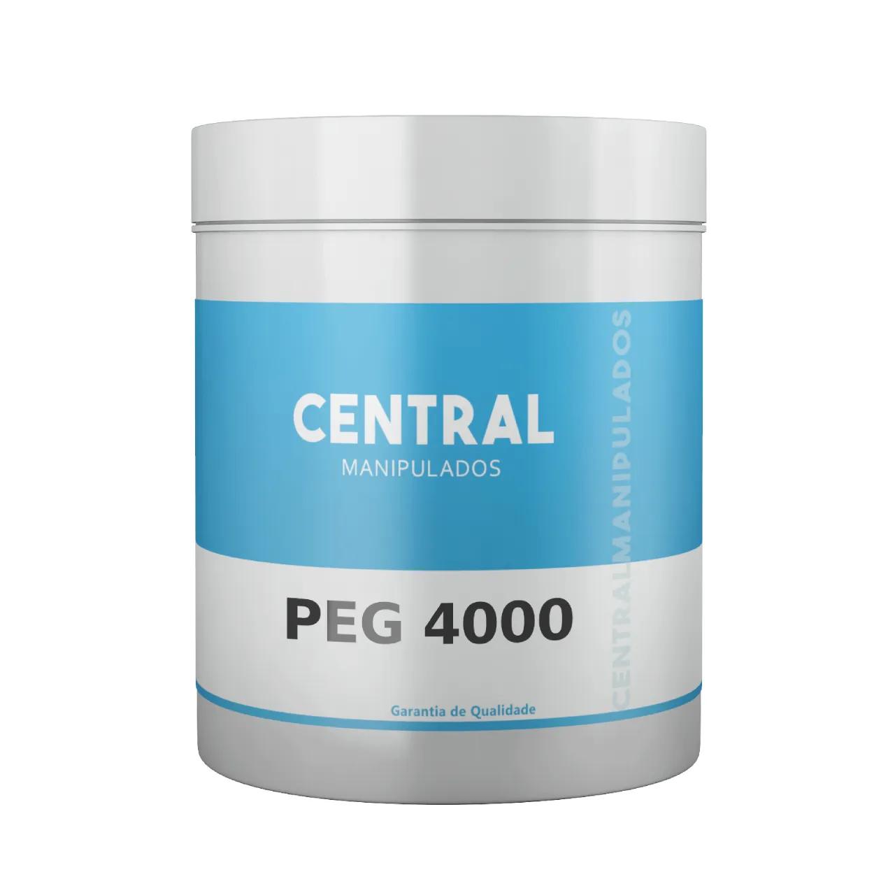 PEG 4000 - 300g - 60 Doses - Em pó