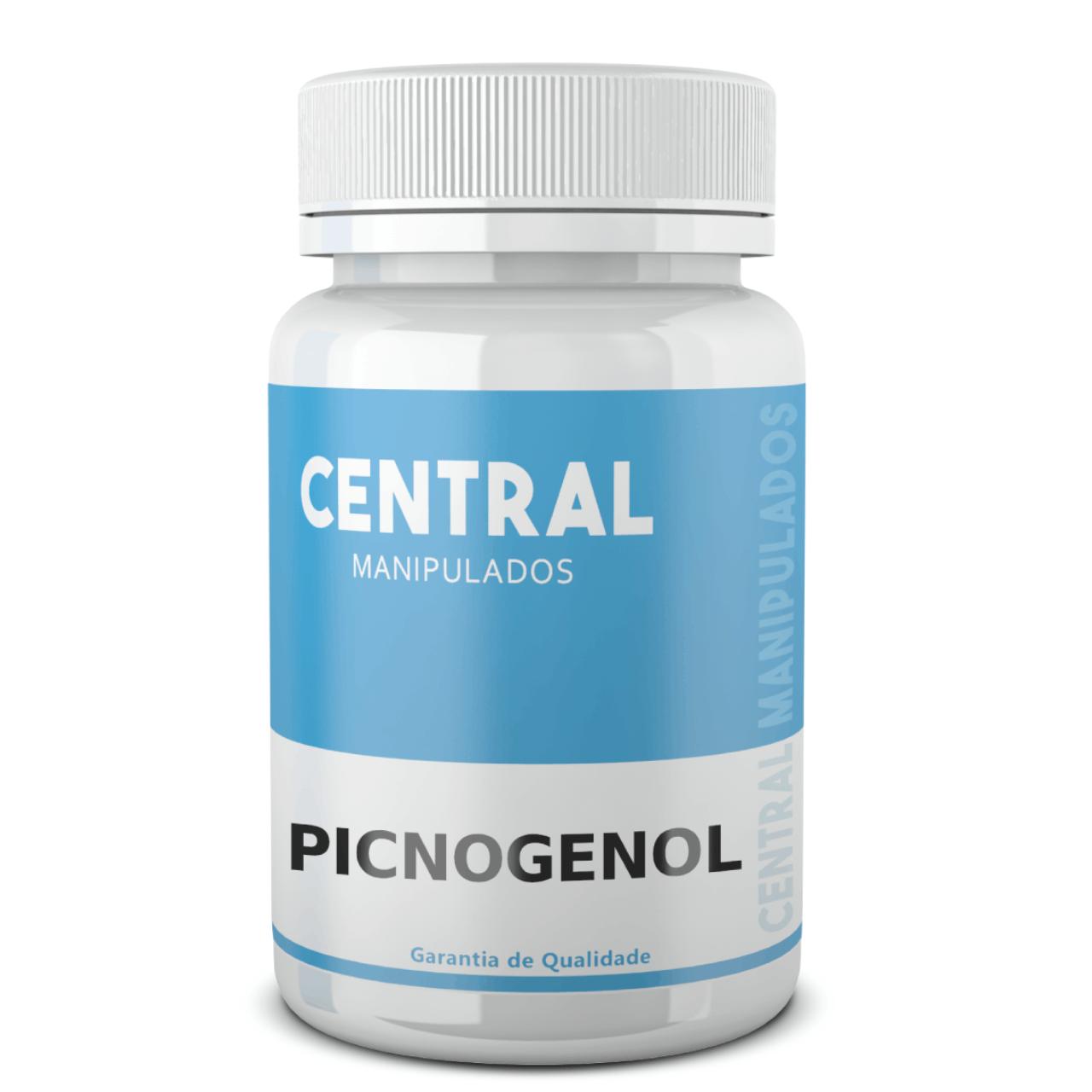 Picnogenol 300mg - 120 cápsulas - (pinus Pinaster) Pycnogenol - ANTIOXIDANTE