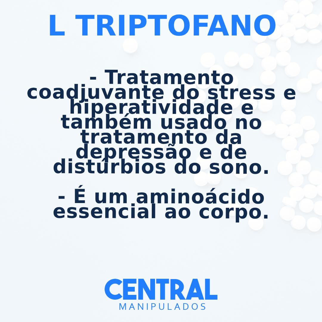 Picolinato de cromo 350mcg + 5 HTP 50mg +  L Triptofano 300mg - 30 cápsulas