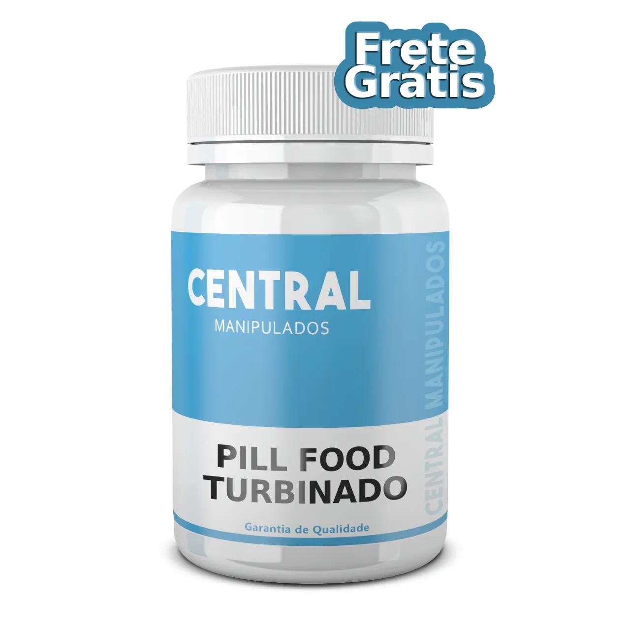 Pill Food Turbinado - 240 cápsulas - complexo vitamínico - FRETE GRÁTIS*