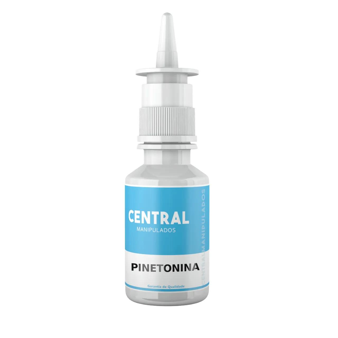 Pinetonina 50% - Spray Nasal - 30ml - Distúrbios de ansiedade, do sono, e stress. Relaxamento do corpo e da mente