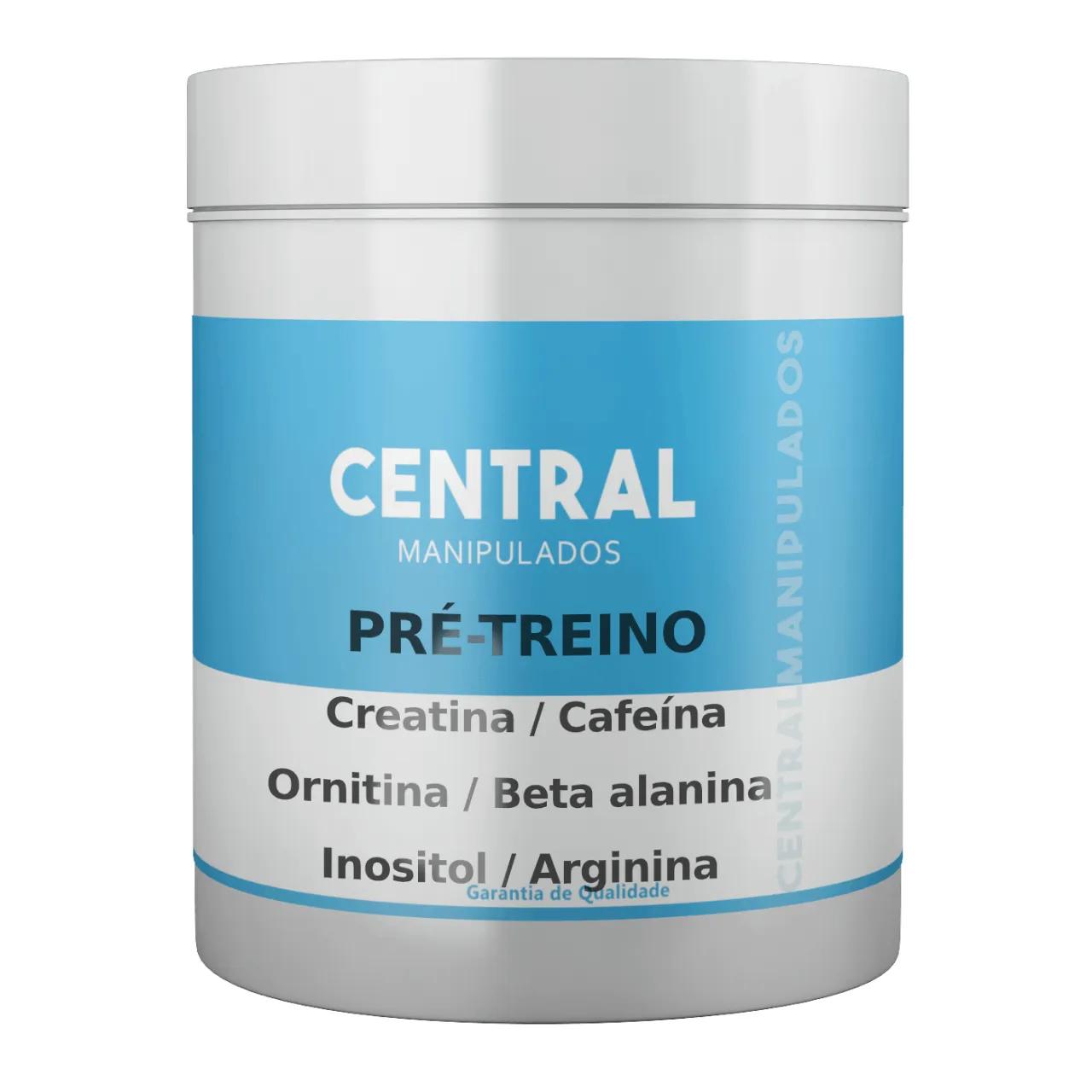 Pré Treino CentralWork - 30 doses - Melhorar desempenho físico