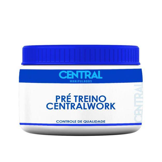 Pré Treino CentralWork 60 doses - Energia e Força