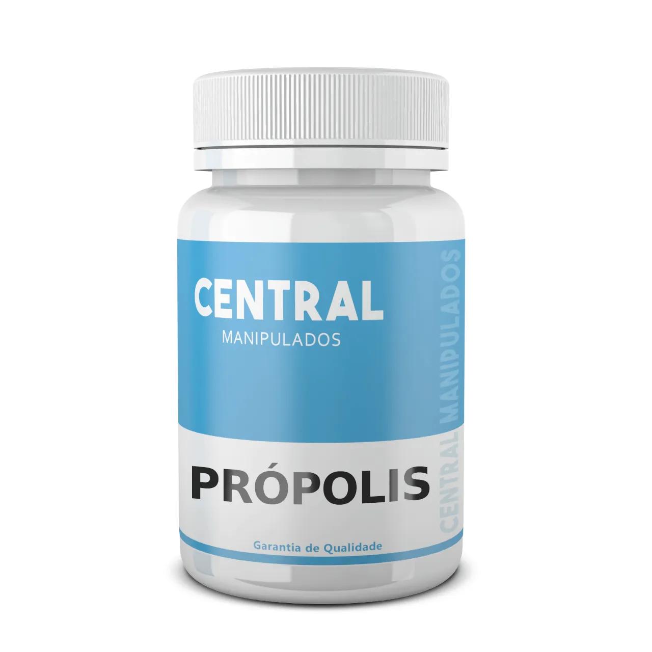 Própolis 500mg - 60 Cápsulas - Reforço para Imunidade