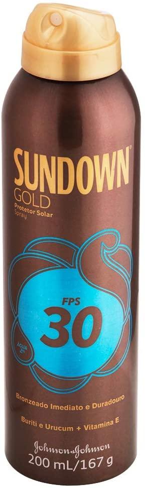 PROTETOR SOLAR  SUNDOWN GOLD SPR FP30 200