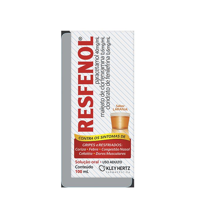 RESFENOL® 100 ML SOLUÇÃO - KLEY HERTZ
