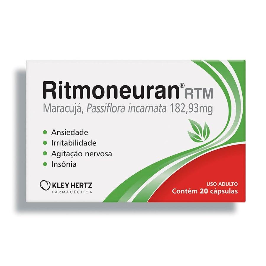 RITMONEURAN® 182,93 MG 20 CÁPSULAS - KLEY HERTZ
