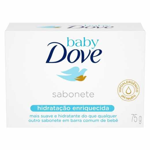SABONETE DOVE BABY HIDRA HENRIQ 75G