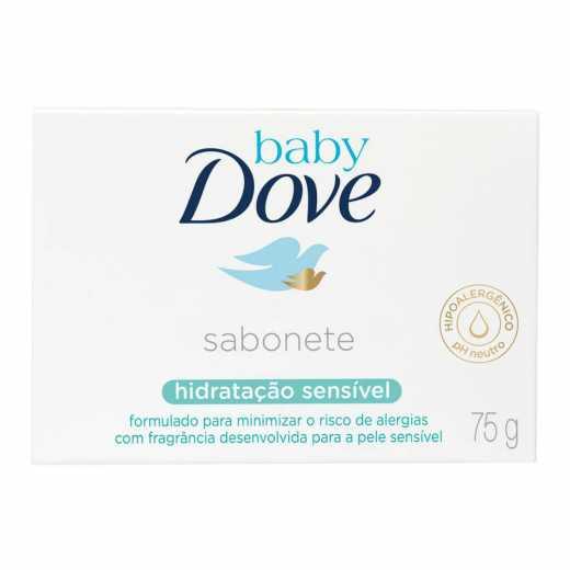 SABONETE DOVE BABY HIDRA SENSIV 75G