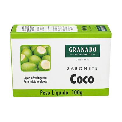 SABONETE  GRANADO COCO 100G 12UN