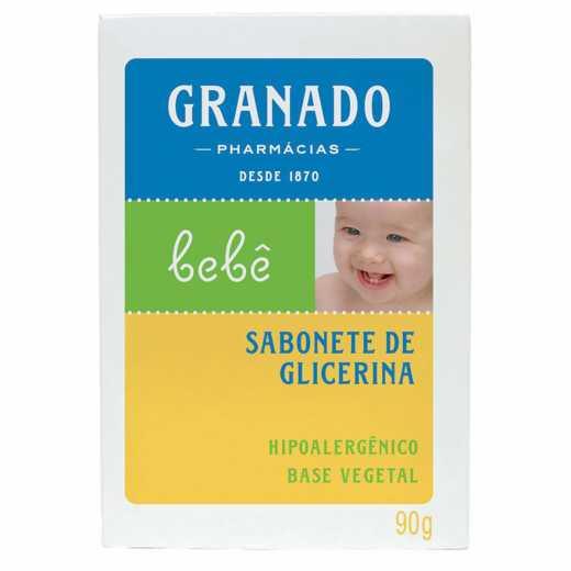 SABONETE  GRANADO G BEB TRAD 90G 12U
