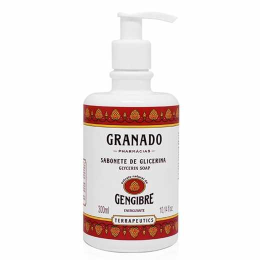 SABONETE  LIQ GRANADO G GENGIB 300ML