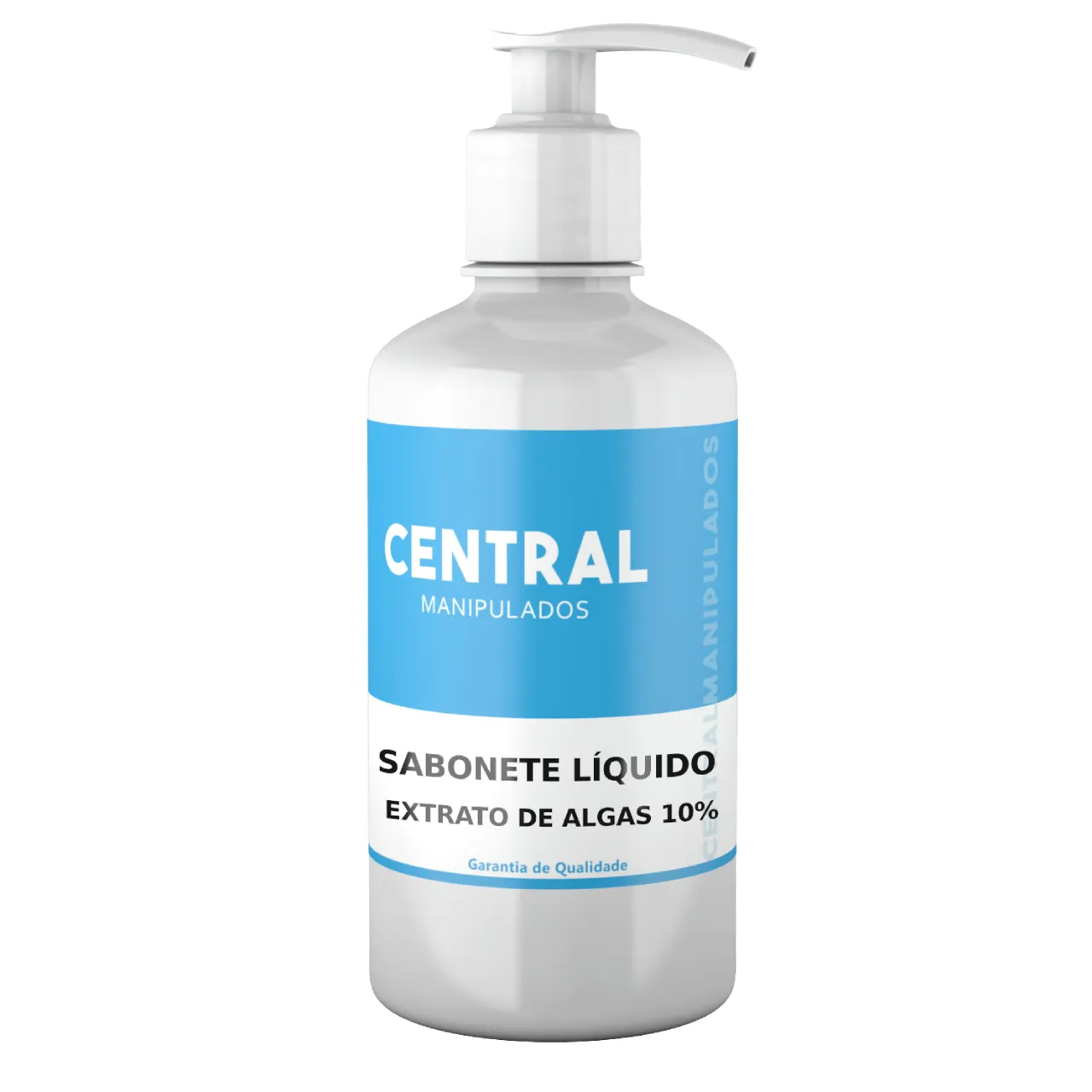 Sabonete Líquido Extrato de Algas 10% - 200ML - Uso externo para Celulite, Cicatrizante, Remineralizante, Suavizante e Hidratante.