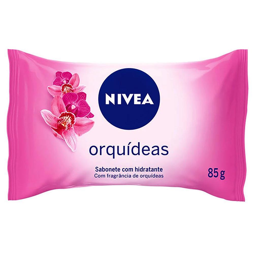 SABONETE  NIVEA HIDRAT ORQUIDEAS 85G
