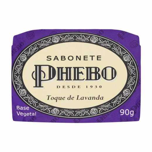 SABONETE  PHEBO TOQ LAVANDA 90G 12UN