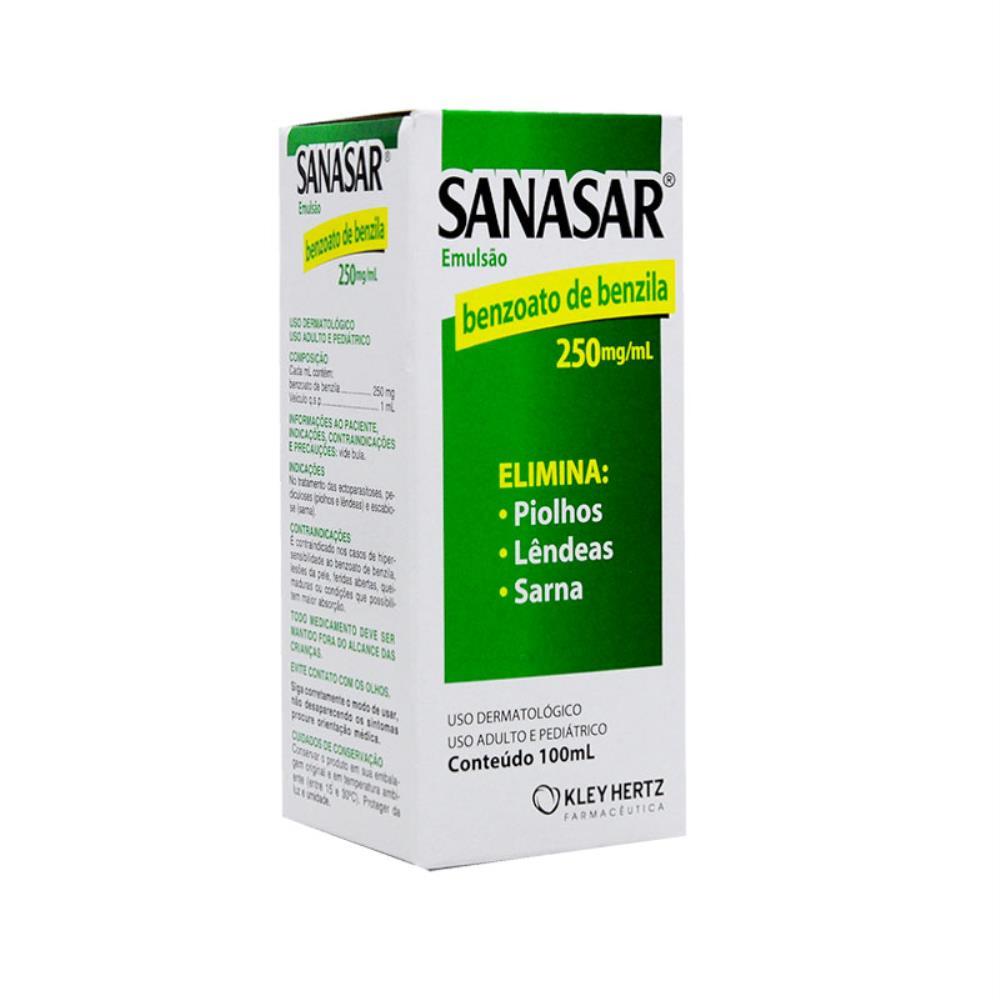 SANASAR® 250 MG/ML 100 ML EMULSÃO - KLEY HERTZ